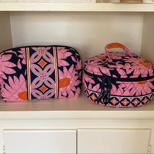 SET OF TWO cosmetic/toiletry bags😁